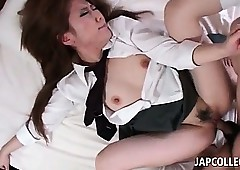 Concealed boobed asian omnibus..