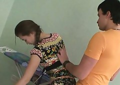 Blowjob on touching dote on..