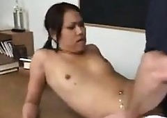 Asian Pupil Fucked Unconnected..