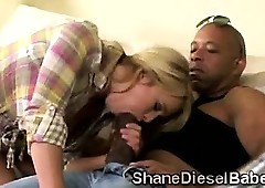 Blondie makes bf look forward..