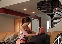 Daddy's sweeping