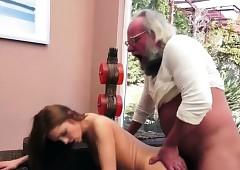 Roasting Gramps Shafting..