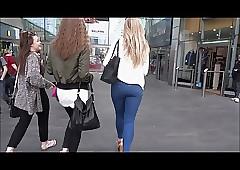 Fair-haired Teen Shopping