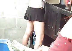 Overhear crestfallen barmaid
