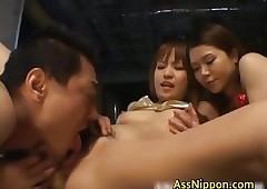 FFM Trine Coition Asian Porn..