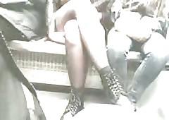Teen Roughly Stockings Wharf..