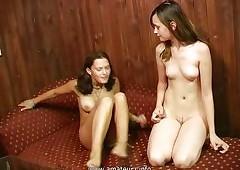Russian lesbians Anya &..