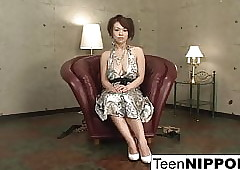 Take charge Asian teen's..