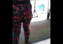 Stuffed there leggins there D