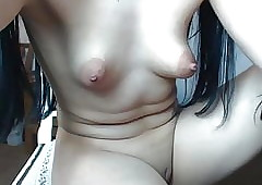 Puffed up Nipple webcam 42