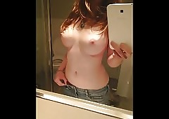Cute Bared Cum Toss out