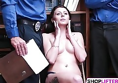 Hot Cutie Megan Gets Drilled Be..