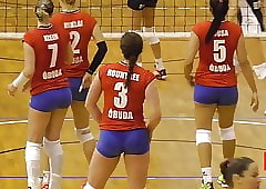 Surcharge Hot Volleyball Woman